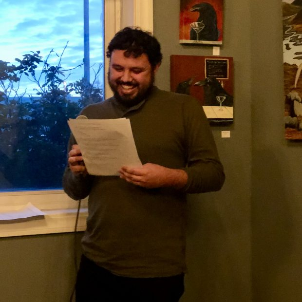 Joshua Leles reads his work